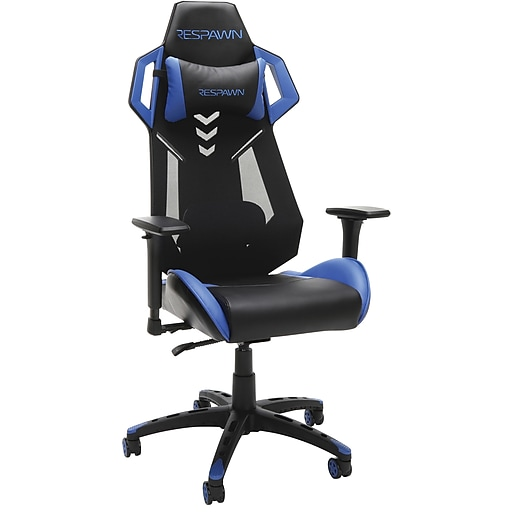 Ofm Respawn Blue Gaming Chair Staples