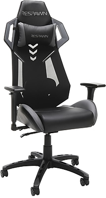 RESPAWN-200 Racing Style Gaming Chair - Ergonomic Performance Mesh Back Chair, Office or Gaming Chair, Gray (RSP-200)