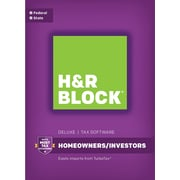 H&R Block 17 Deluxe + State for Windows (1 User) [Download]