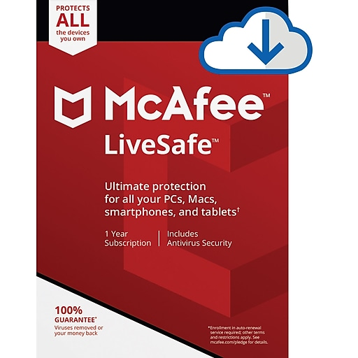 Amazon. Com: mcafee internet security 3 device [pc/mac download.