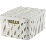 Medium Style Box with Lid, Off White