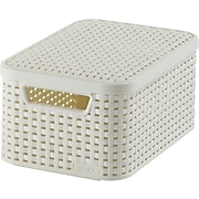 Small Style Box with Lid, Off White