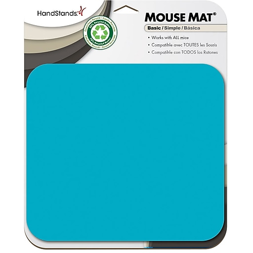 Handstands Mouse Pad Scuba Blue