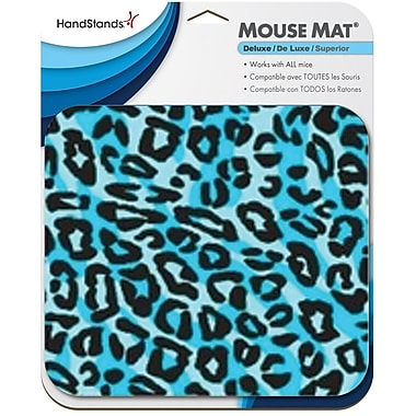 Handstands Mouse Pad Midnight Leapard