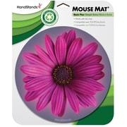 Staples Round Flower Mouse Pad