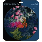 Staples Cynthia Rowley Mouse Pad - Blue Floral