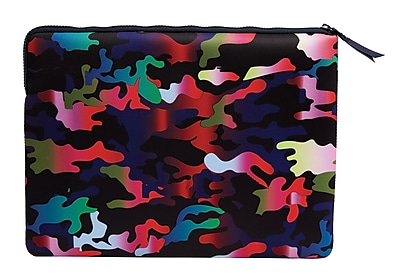 Cynthia Rowley Rainbow Camo Lap Top Case, Neoprene (61000)