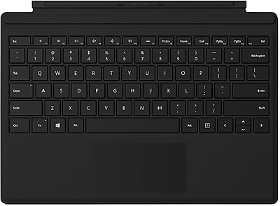 Microsoft Signature Type Cover Keyboard/Cover Case for Tablet, Black