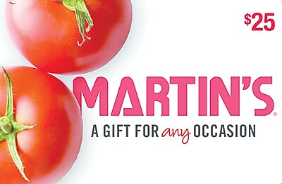 Martins Gift Card $25