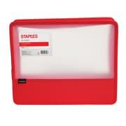 "Staples 3"" Zip Wallet, Letter Size, Assorted (51815)"