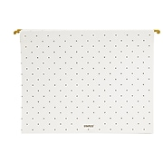 Staples Fashion Heavyweight Hanging File Folder, Letter, Gold Pindot, 6/Pack (51787)