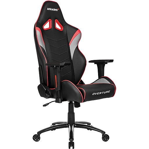 Akracing Overture Gaming Chair Red Staples