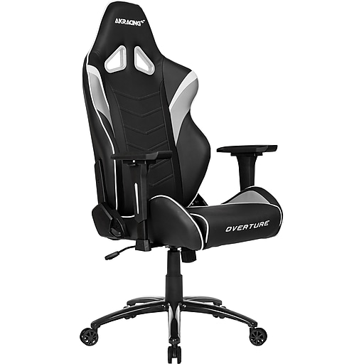 Akracing Overture Gaming Chair White Staples