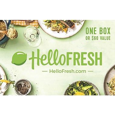 HelloFresh Gift Card $60