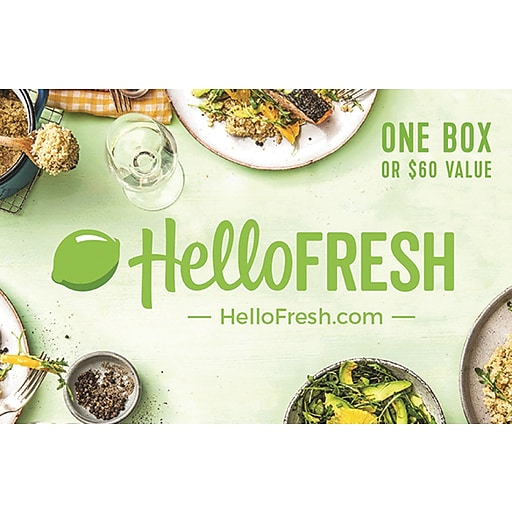 Shop Staples For HelloFresh Gift Card $60