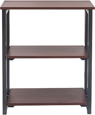 Captivating Folding 2 Shelf Bookcase   Cherry. Rollover Image To Zoom In.  Https://www.staples 3p.com/s7/is/