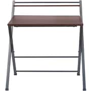 """ReadyNow Folding Tray Desk, Cherry, 35.2""""H x 33.9""""W x 25.2D"""