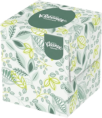 Kleenex Softblend Facial Tissue, 2-Ply, White 95/Bx