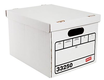 //.staples-3p.com/s7/is/  sc 1 st  Staples & Staples Basic Duty Storage Boxes Letter/Legal Size 10 Pack | Staples