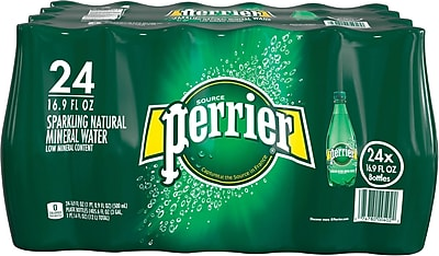 Perrier® Sparkling Natural Mineral Water, 16.9 oz., 24/PK