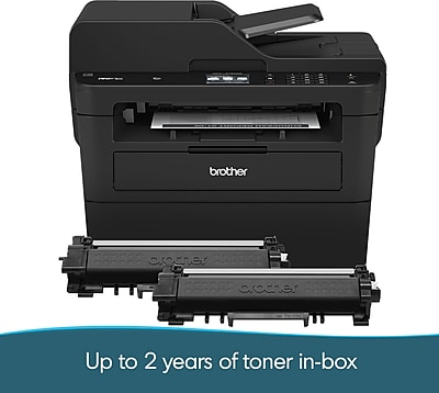 Brother MFCL2750DWXL All-in-One Monochrome Laser Printer