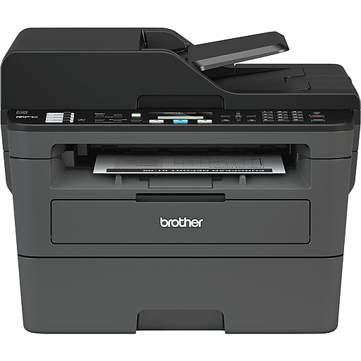 Brother MFC-L2710DW USB, Wireless, Network Ready Black & White Laser  All-In-One Printer