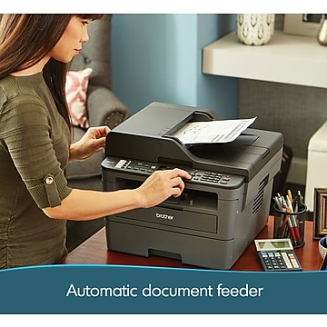 Brother MFC-L2710DW Monochrome All-In-One Laser Printer