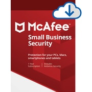McAfee Small Business Security 5 Device for Windows/Mac (1-5 Users) [Download]