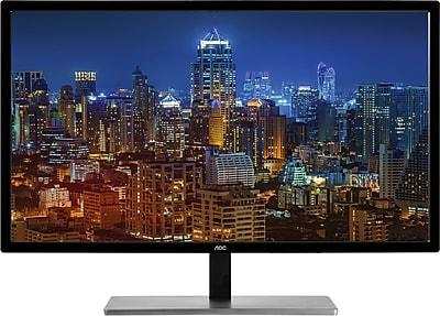 AOC U2879VF 28'' LED 4K Monitor 3840 x 2160 Res,1ms, 20M:1 DCR, 300cd/m2 Brightness, Free Sync, VGA,DVI,HDMI-MHL, Display Port