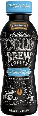 Java House™ Cold Brew Vanilla Frappe, 10 Oz., 12/CT