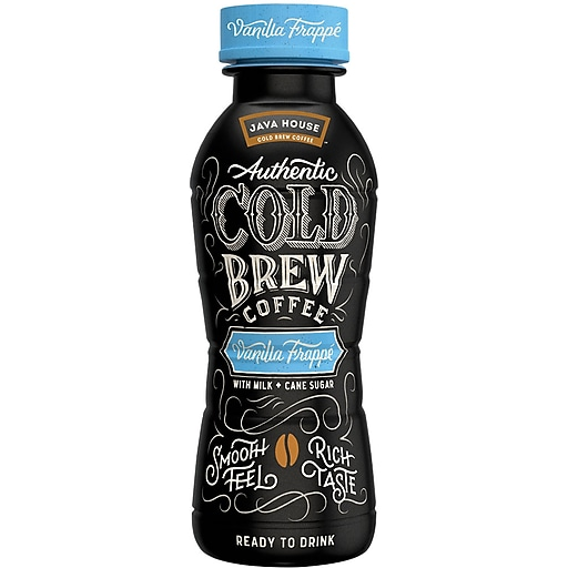 Java House™ Cold Brew Vanilla Frappe, 10 Oz., 12/CT