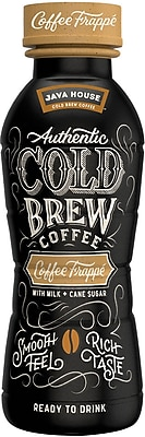 Java House™ Cold Brew Coffee Frappe, 10 Oz., 12/CT