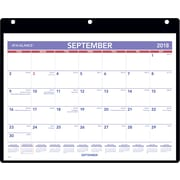 "2018-2019 AT-A-GLANCE® Academic Monthly Desk/Wall Calendar, 16 Months, September Start, 11"" x 8-1/4"" (SK7-00-19)"