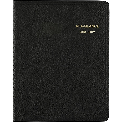 2018 2019 At A Glance 6 7 8 X 8 3 4 Academic Monthly Planner 18