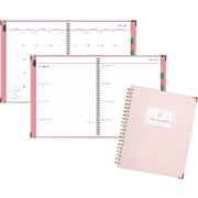 "2018-2019 AT-A-GLANCE® 8 1/2"" x 11"" Badge Stripe Academic Weekly/Monthly Planner (6124S-905A-19)"