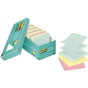 """Post-it® Pop-up Notes, 3"""" x 3"""", Marseille Collection, 18 Pads/Pack (R330-18APCP)"""