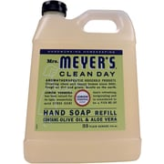 Mrs. Meyer's Clean Day Hand Soap Refill, Lemon Verbena, 33 fl oz (651327)