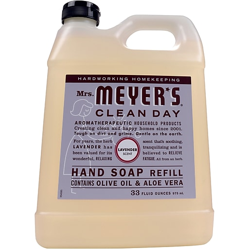 Mrs. Meyer's Clean Day Hand Soap Refill, Lavender, 33 fl oz (651318)