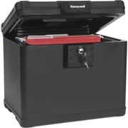 Honeywell Fire & Water File Chest, Key Lock, 0.6 Cubic Feet (1506000)