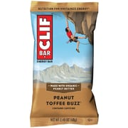 Clif Bar Peanut Toffee Buzz with Caffeine 12ct (CCC160028)