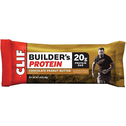 Clif® Builders® Protein Bar Chocolate Peanut Butter 12/CT (CCC160041)