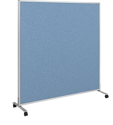 Best-Rite Fabric Standard Modular Panel, 5' x 5', Blue