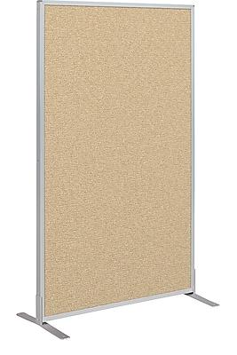 Best-Rite Fabric Standard Modular Panel, 5' x 3', Nutmeg