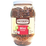 Snyder's of Hanover Mini Pretzels, 32oz Canister