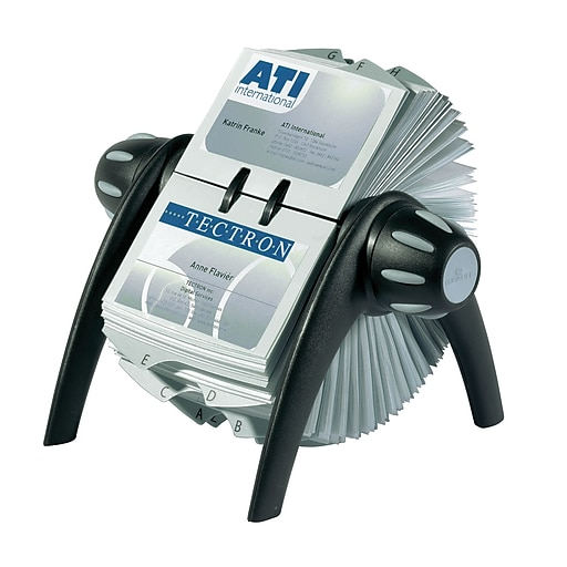Durable visifix flip rotary business card file 2 78 x 4 18 400 httpsstaples 3ps7is colourmoves