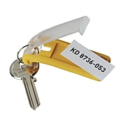 Durable Key Tags 6 Pack, Dark Blue