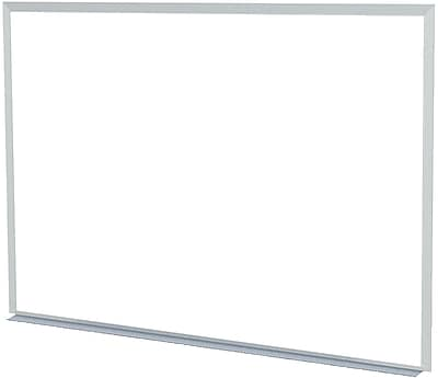 Mammoth Office Products Non-Magnetic Dry-Erase Whiteboard, 4'W x 3'H (MMM2A3648)