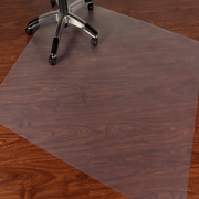 "Mammoth Office Products PVC Chair Mat for Hard Floor Rectangular, 46""W x 60""L (V4660RHF)"