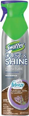 Swiffer® Dust & Shine Multi-Purpose Polish, Febreze® Lavender Vanilla & Comfort, 9.7 oz.