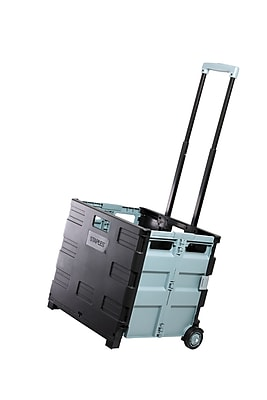 Staples Expanding Folding Crate on Wheels (31272-CC)
